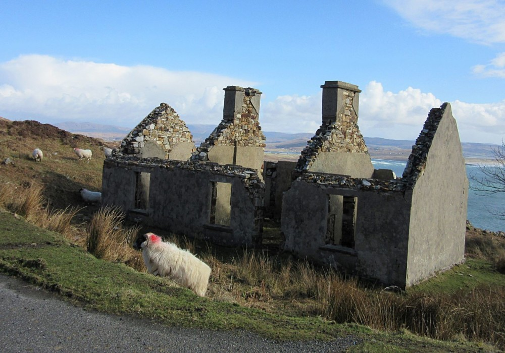 Abandoned house in Donegal